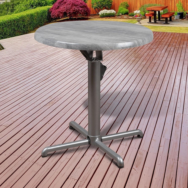 Amazon com atlantic patio atlantic greece isotop folding table garden outdoor