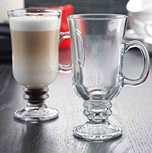Home Essentials Brew Irish Coffee Mugs 7.8 oz. Set Of 4