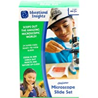 Educational Insights Microscope Slide Set de GeoSafari