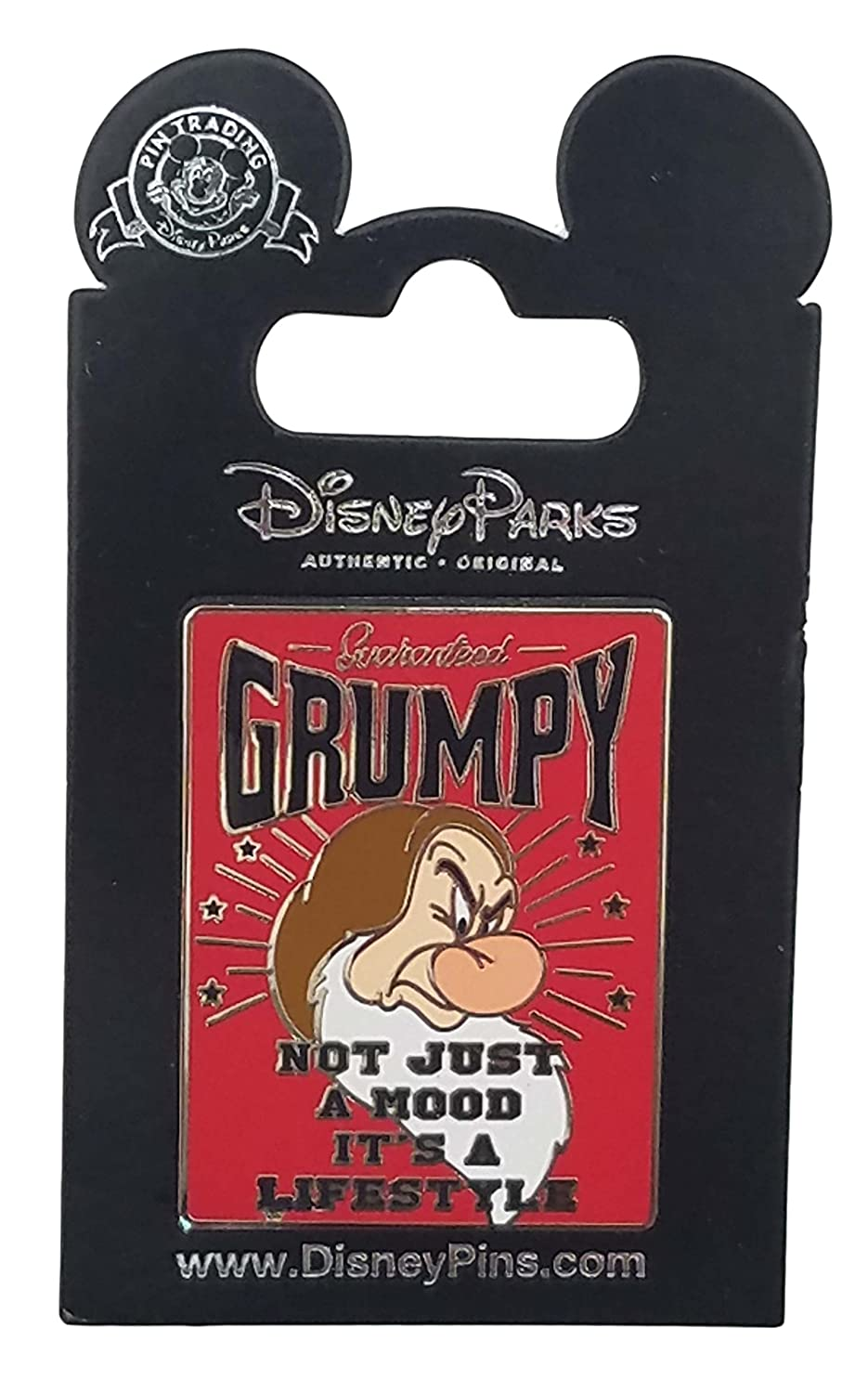 Disney Pin - Grumpy - Not Just a Mood It's a Lifestyle
