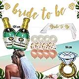 COCOBECO Despedida DE Soltera Decoraciones Bachelorette Party Bride TO BE Accesorios