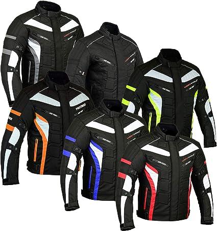 Chaquetas de moto Motorcycle Bike Rider Impermeable Chaqueta de dise/ño de alta calidad Shirt Gears Bartack cosida Chaqueta todo el tiempo para hombres adultos Ni/ños