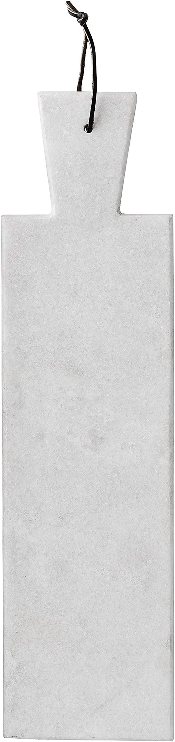 White Bloomingville A45200000 Marble Cutting Board with Strap