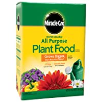 Deals on Miracle-Gro Water Soluble All Purpose Plant Food 10 lbs