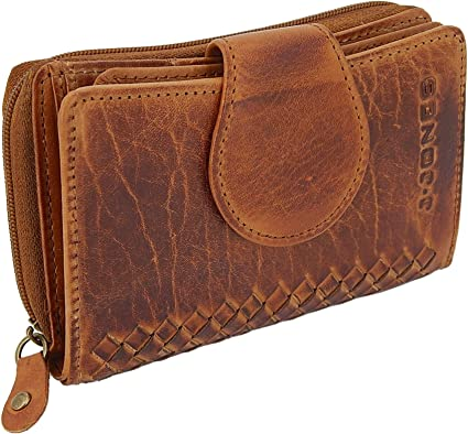 Portemonnaie für Damen groß Geldbörse Geldbeutel Lederoptik New Fashion XXL