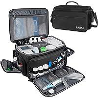 Mancro Nurse Bag,Medical Supplie Bag with Inner Divider&No-Slip Bottom Water-Resistant Trauma Bag with Shoulder Strap…