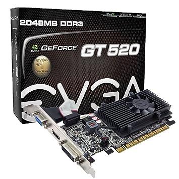 Amazon.com: EVGA GeForce GT 520 2048 MB DDR3, PCI Express ...