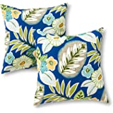 Greendale Home Fashions 17 in. Outdoor Accent Pillow (set of 2), Marlow