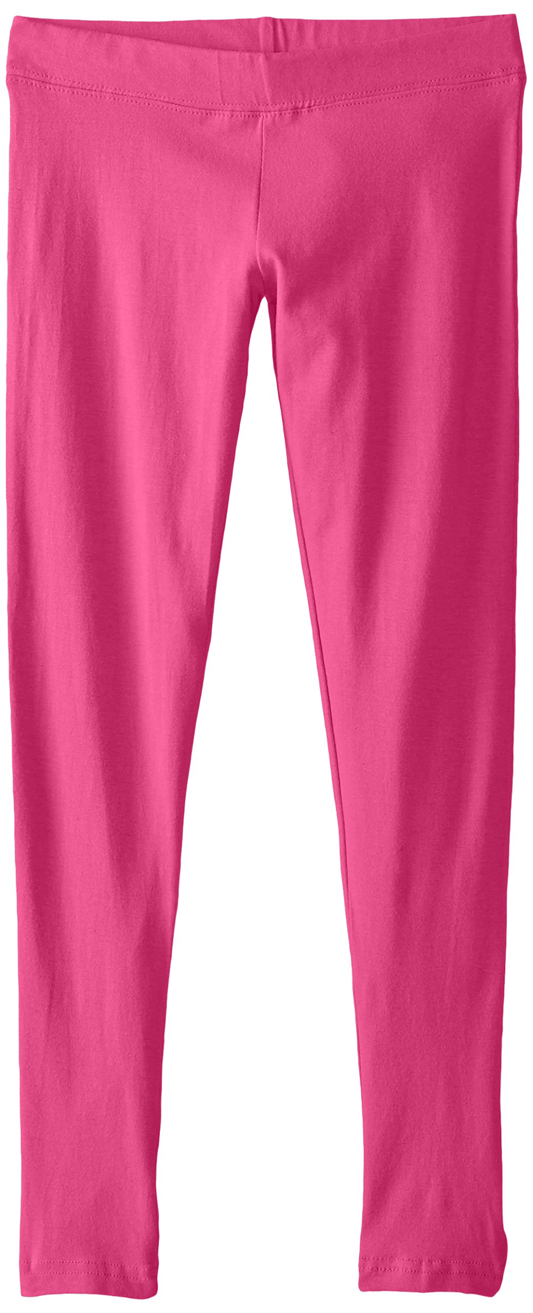 French Toast Girls' Big Solid Legging, Rose Violet, M (7/8)