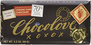 product image for Chocolove Dark Chocolate, Strong 70%, 3.2 Ounce (Pack of 12)