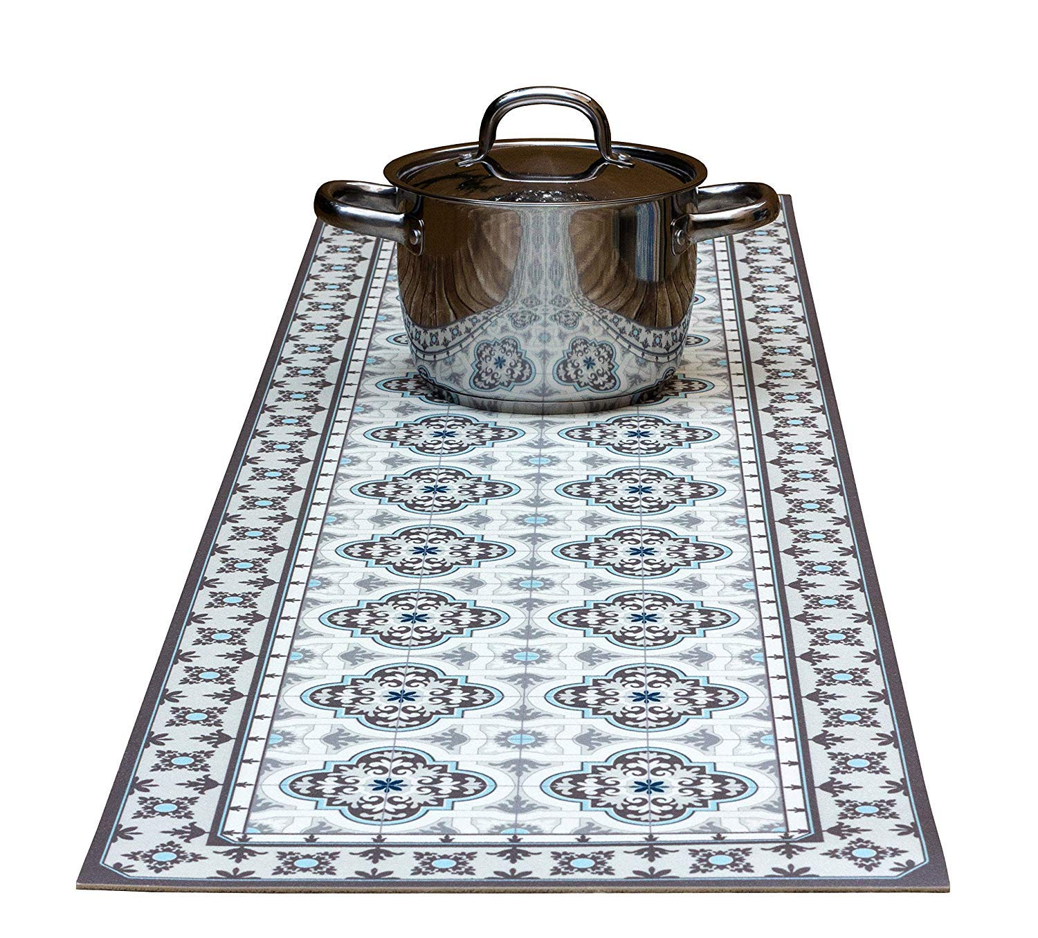 Toscana Runner Decorative Trivet and Kitchen Table Runners Handles Heat Up to 365F, Anti Slip, Hand Washable and Convenient for Hot Dishes and Pots by Tiva Design