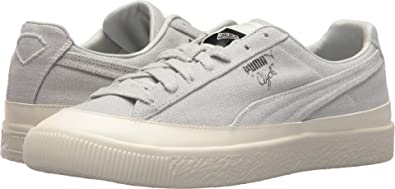 80dbfba0cd3 PUMA Men s Clyde Diamond Glacier Gray Glacier Gray 5.5 ...