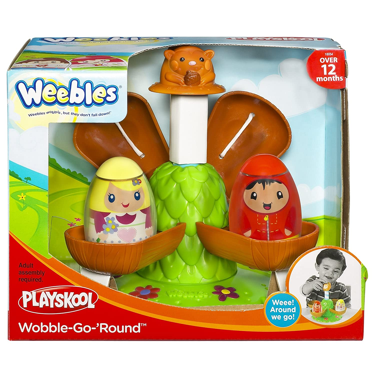Playskool Weebles Musical Treehouse Part - 42: Amazon.com