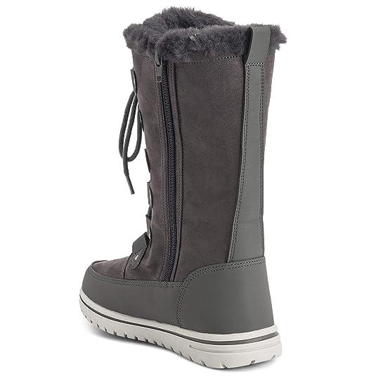 e5f3b60b5e37a Descripción del producto. Mujer Térmico Calentar Invierno Nieve Lluvia  Impermeable Botas Hasta Las Rodillas