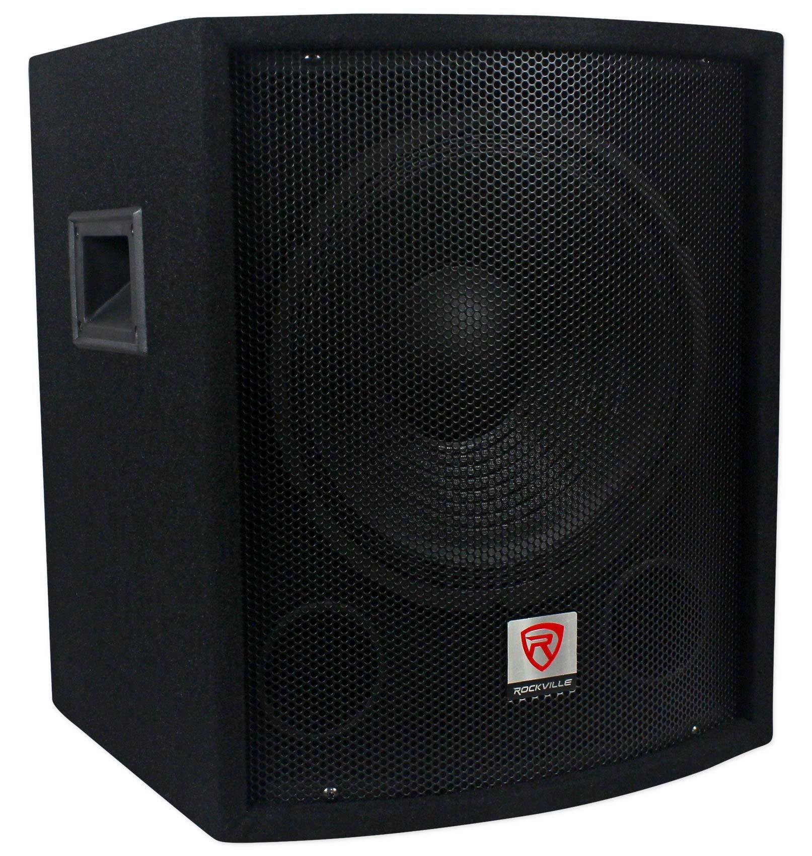 Rockville SBG1128 12'' 600 Watt Passive Pro DJ Subwoofer, MDF Cabinet/Pole Mount by Rockville (Image #3)