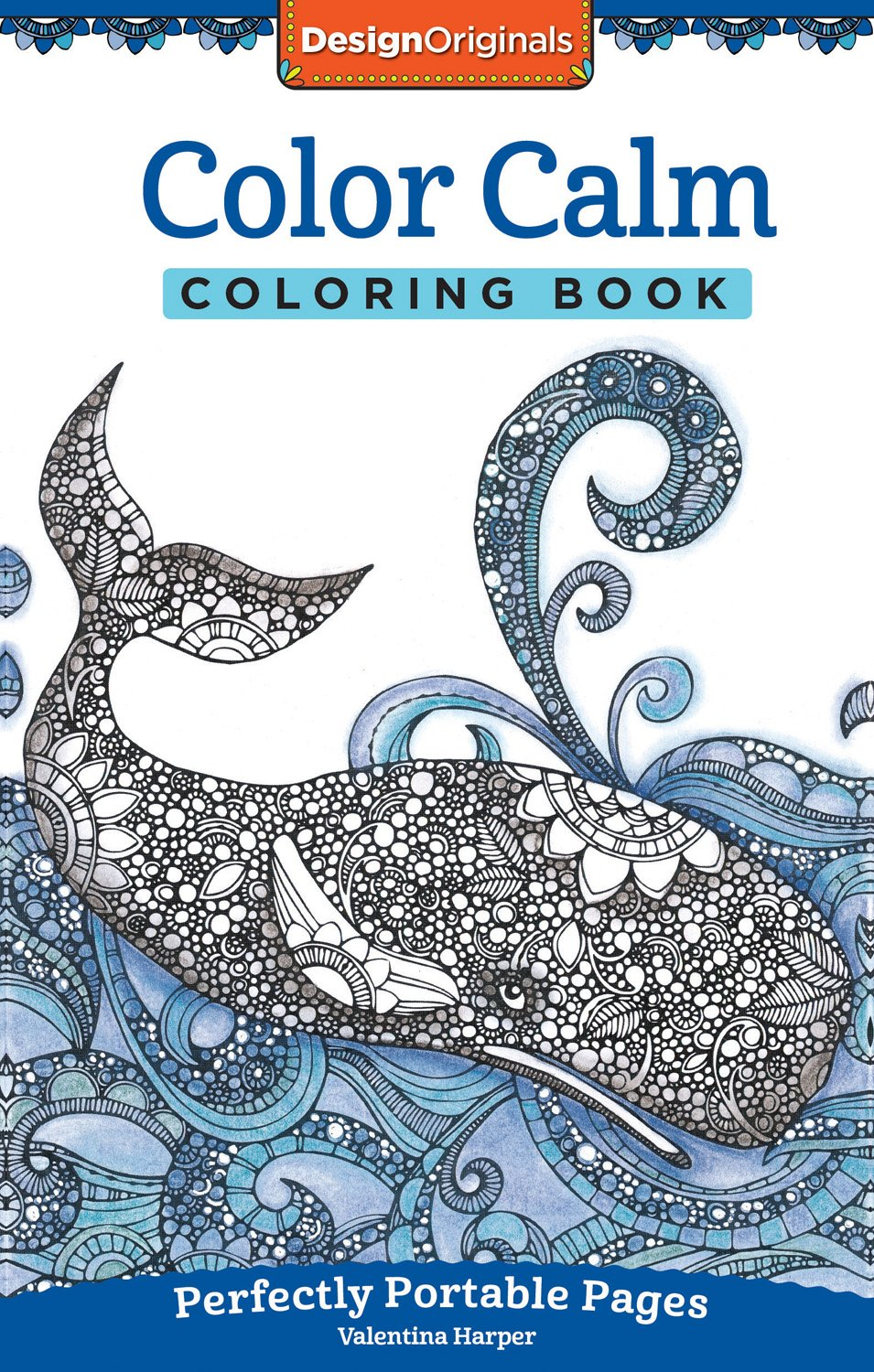 Amazon.com: Color Calm Coloring Book: Perfectly Portable Pages (On ...