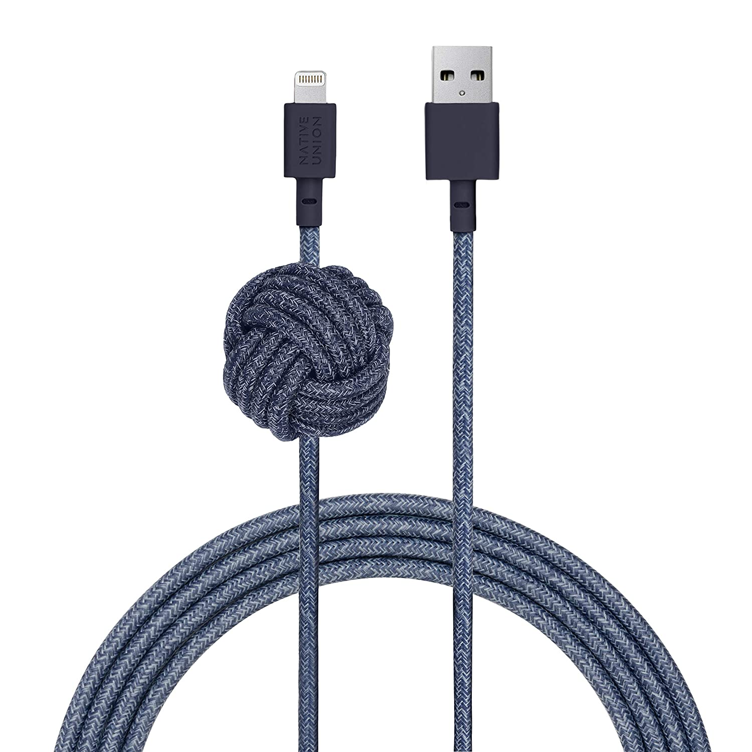cable lightning 3 metros NATIVE UNION Weighted Knot