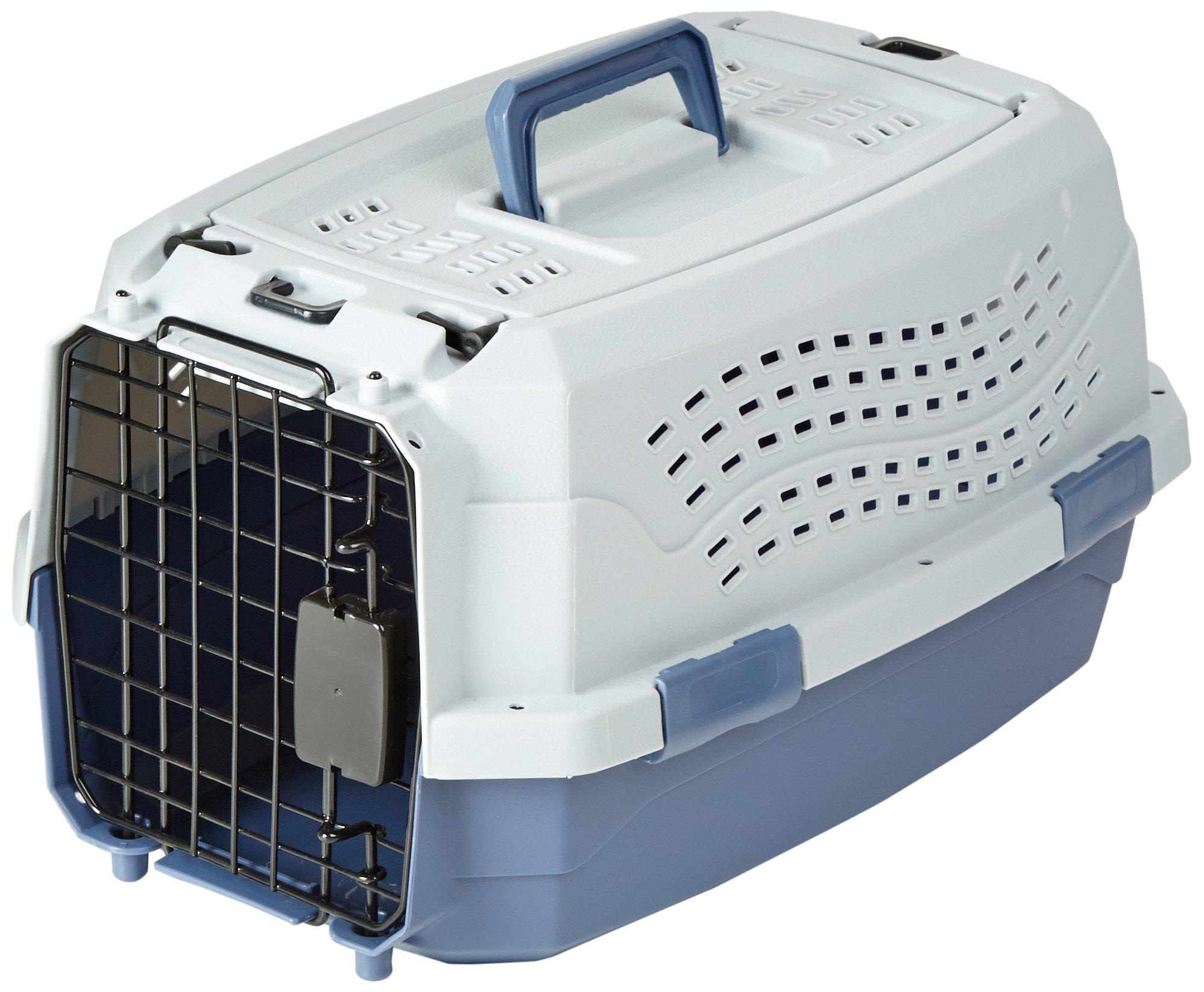 AmazonBasics 19-Inch Two-Door Top-Load Pet Kennel by AmazonBasics