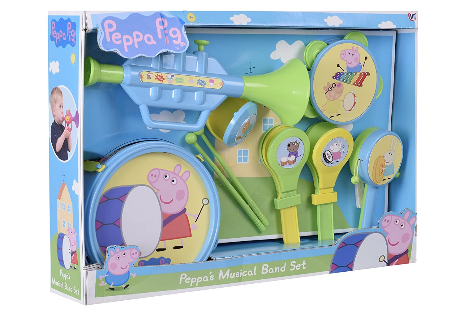 Peppa Pig Musical Band Set HTI 1383757