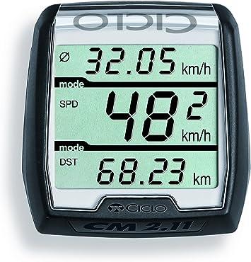 CicloMaster CM 2.11 - Ordenador para Bicicleta, Color Negro Negro Negro Talla:Talla única: Amazon.es: Deportes y aire libre