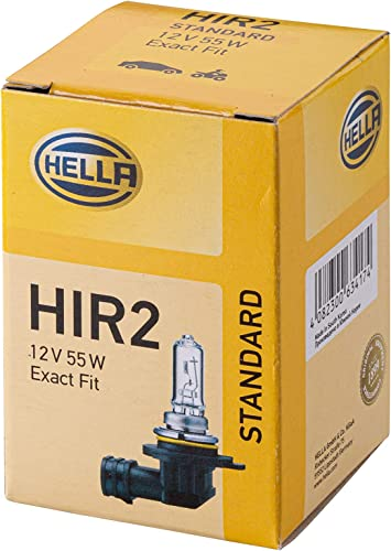 Hella 8gh 009 319 001 Glühlampe Hir2 Standard 12v 55w Sockelausführung R 37 Schachtel Menge 1 Auto