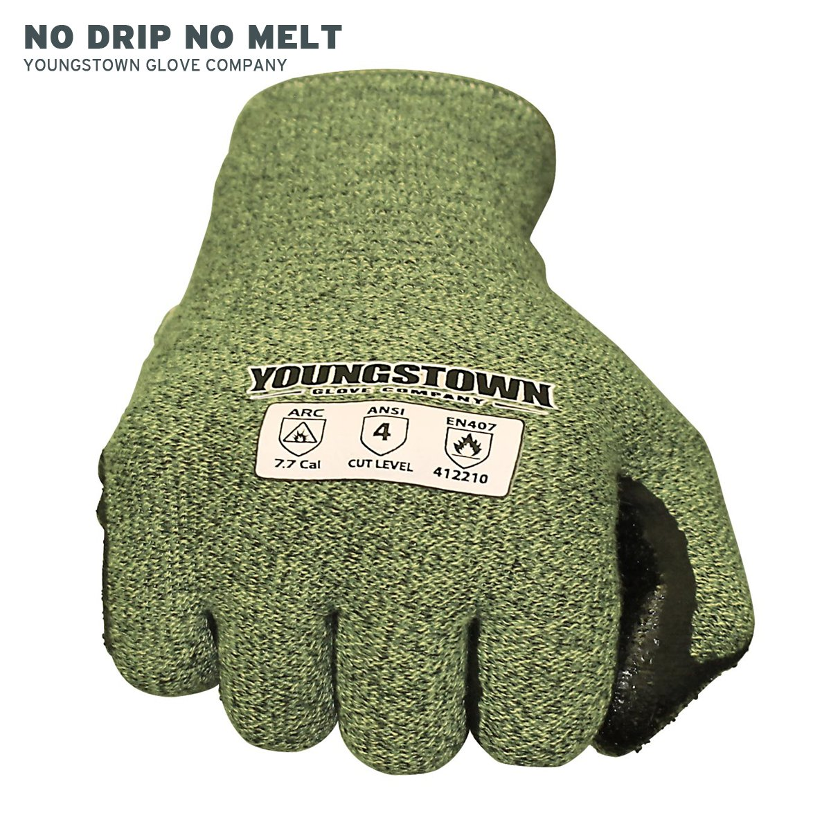 Youngstown Glove 12-4000-60-L FR 4000 Cut-Resistant Gloves, Large, Multicolored by Youngstown Glove Company (Image #5)