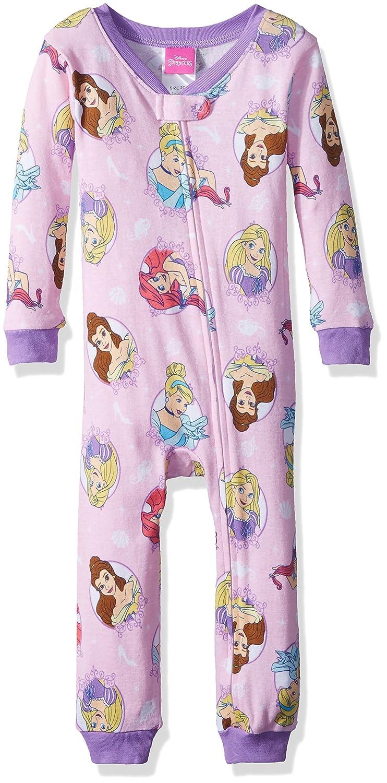 Disney Girls Toddler Girls Multi-Princess Cotton Non-Footed Pajama 21DP311TBSZA-P6