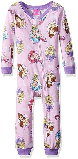 e78c38b209 Amazon.com  Disney Girls  Multi-Princess Cotton Onesie  Clothing