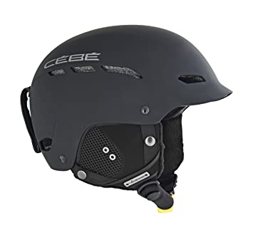 Cébé Dusk Cascos de ski, Unisex adulto, Black, 52-55cm