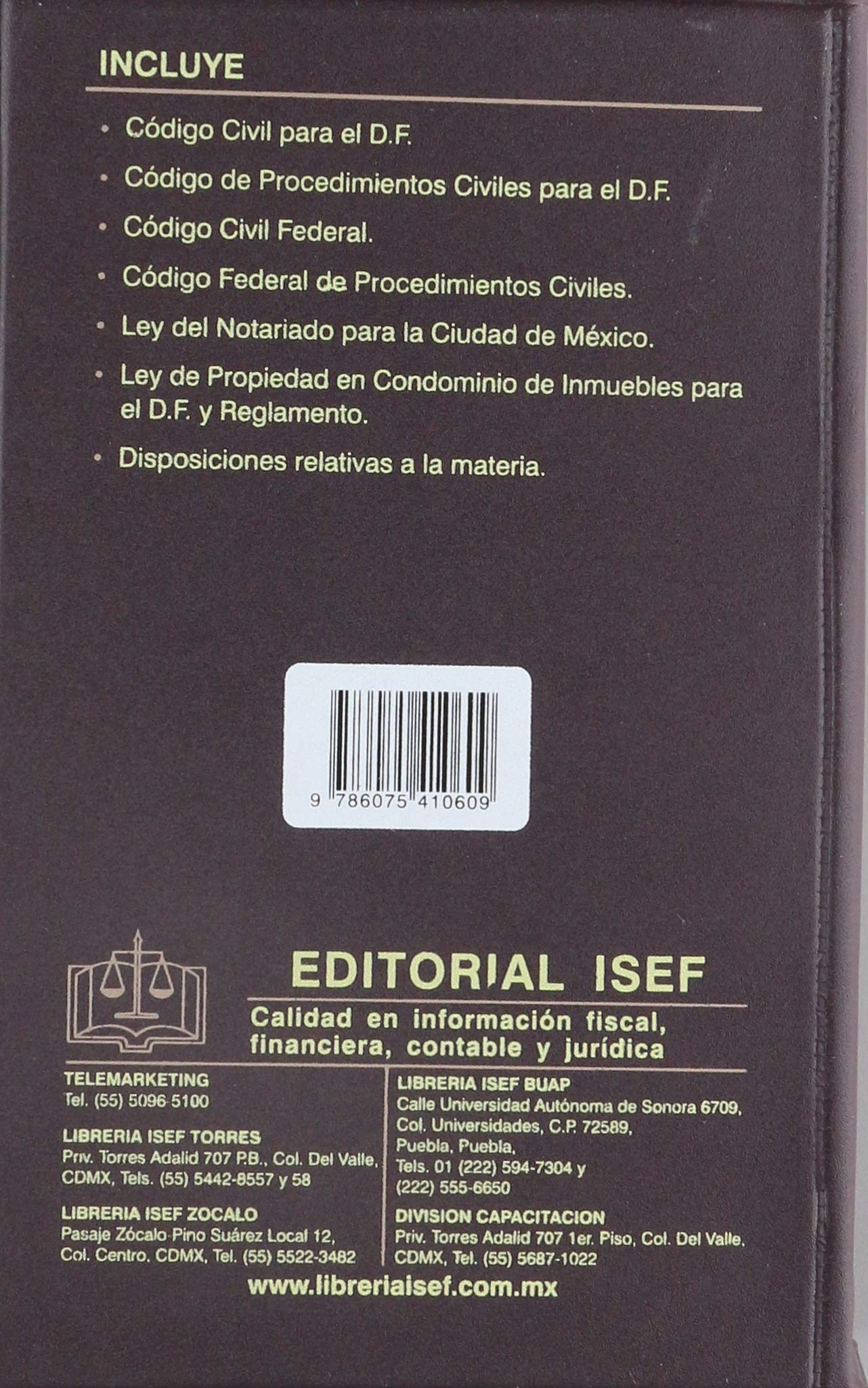 AGENDA CIVIL DE LA CUIDAD DE MEXICO 2019: EDICIONES FISCALES ...