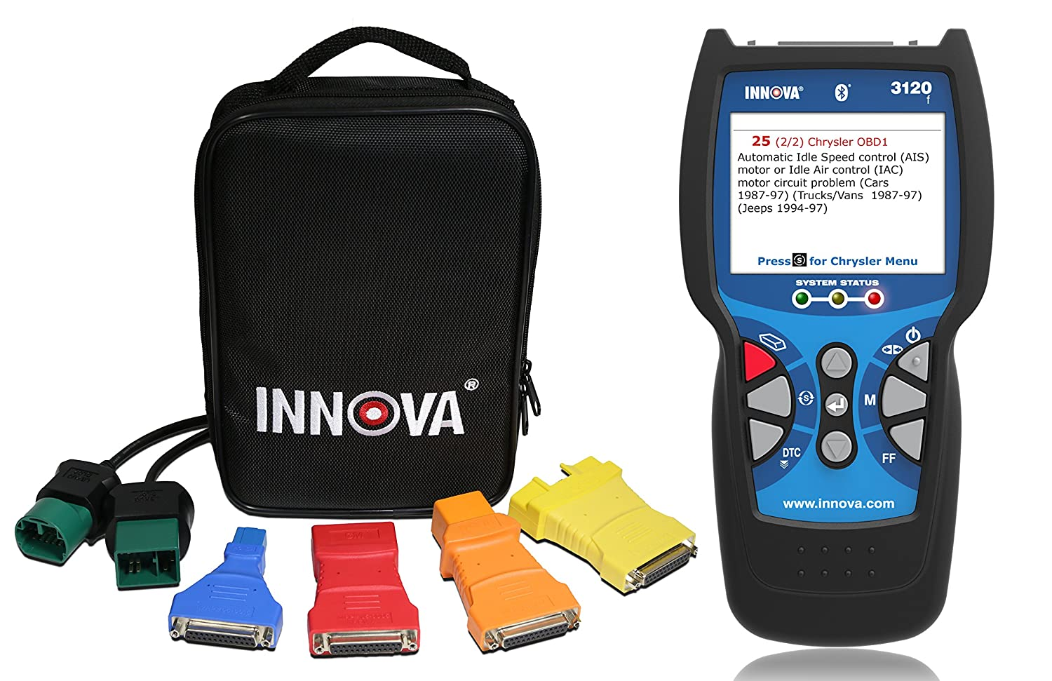 Innova 3120f Code Reader / Scan Tool with ABS