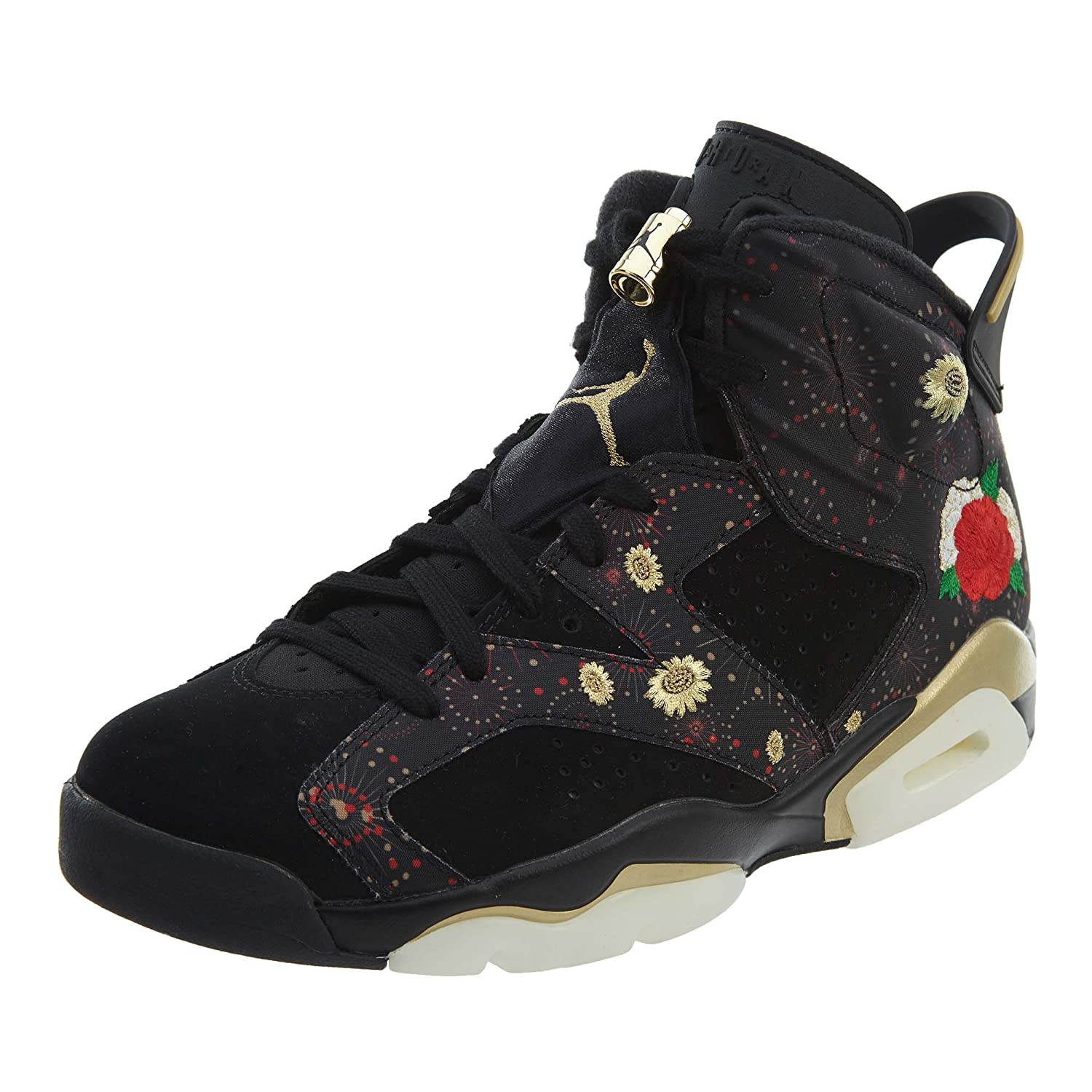 AIR JORDAN - エアジョーダン - AIR JORDAN 6 RETRO CNY 'CHINESE NEW YEAR' - AA2492-021 - SIZE - 9 (メンズ) B078VLKJRG