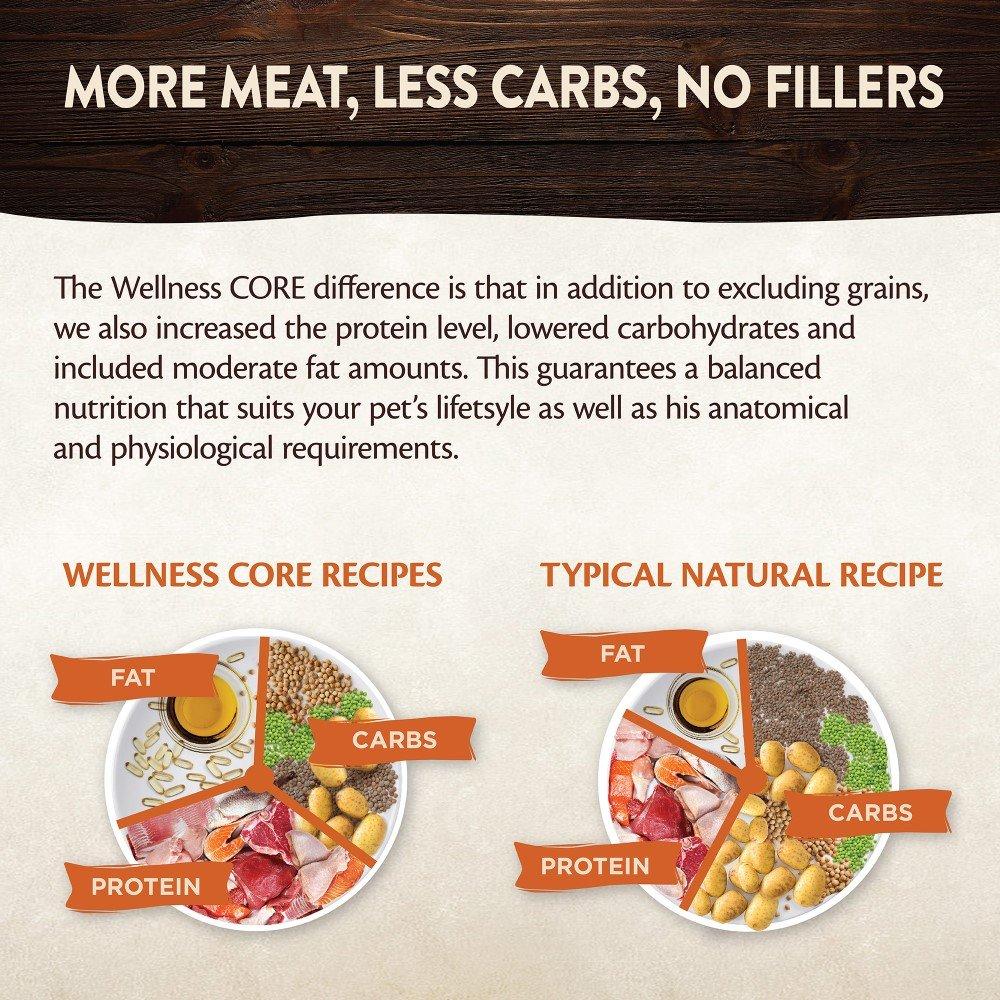 Wellness CORE - Lote de 6 filtros para Tienda de campaña, sin Granos, para Comida de Perro, Pollo/Carne de Vacuno, 170 g: Amazon.es: Productos para mascotas