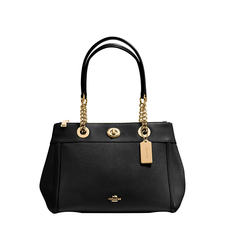 aa7bc43fcc09 Coach Edie Ladies Medium Leather Carryall Handbag 87239  Amazon.ca  Shoes    Handbags