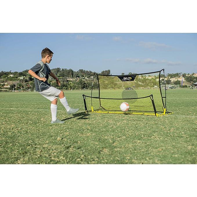 SKLZ Quickster Soccer Trainer - Portable Soccer Rebounder Net Works as a  Soccer Volley Trainer, Soccer Passing Trainer and Solo Soccer Trainer   6-Feet