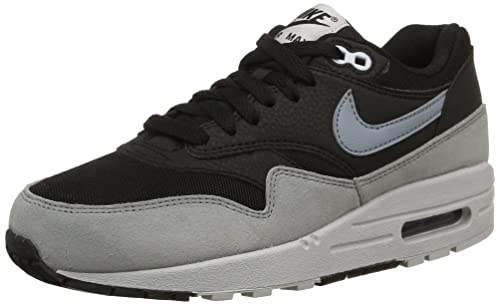sale retailer 2e4bd 07086 Image Unavailable. Image not available for. Colour  Nike Women s Air Max 1  Essential Black Dove Grey Pure ...