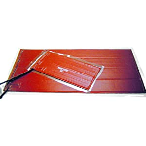 BriskHeat SRL24241 SRL Silicone Rubber Heating Blanket, Square, 120V, W x L: 24 x 24-Inch