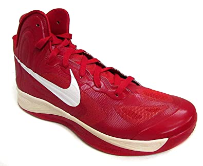 outlet store 8c4a5 f5b21 Image Unavailable. Image not available for. Color  NIKE Women s Hyperfuse TB  Gym Red White Basketball Shoes ...