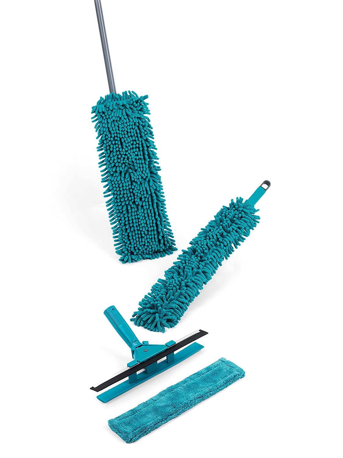 Beldray LA029959TQ 3 In 1 Spray Cleaning Duster Set, Turquoise