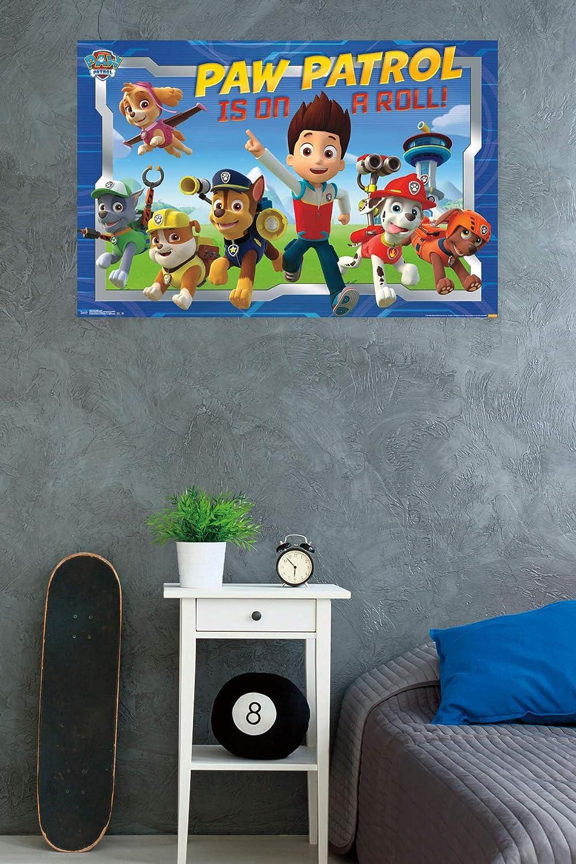 Amazon.com: Trends International Nickelodeon Paw Patrol Crew Wall Poster 22.375