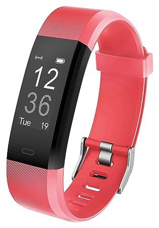 Pulsera Inteligente YG3 Plus Fitness Tracker Brazalete Deporte Actividad Monitor de Frecuencia Cardiáco y Sueño Contador de calorias Podómetro Control ...