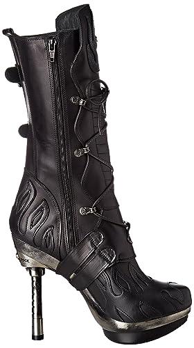 New Rock New Rock M-punk049-s1 - Botas Estilo Motero Mujer  Amazon.es   Zapatos y complementos d30199aa0f7b