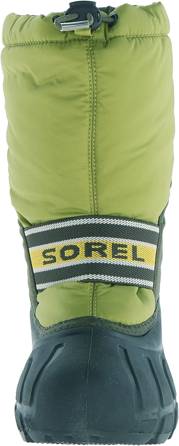 Toddler//Little Kid//Big Kid Sorel Youth Cub Pyth GR Cold Weather Boot K Columbia YOUTH CUB-Python Green