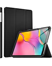 ELTD Case for Samsung Galaxy TAB A T510/T515 2019,Flip Premium Slim light Shell Protective Cover Case for Samsung Galaxy TAB A T510/T515 10.1 Inch 2019 Tablet (Black)