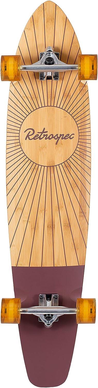 Retrospec Zed Bamboo Longboard Skateboard Complete Cruiser / US
