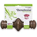 Benebone Real Bacon Zaggler Rolling Dog Chew Toy for Aggressive Chewers, Made in USA