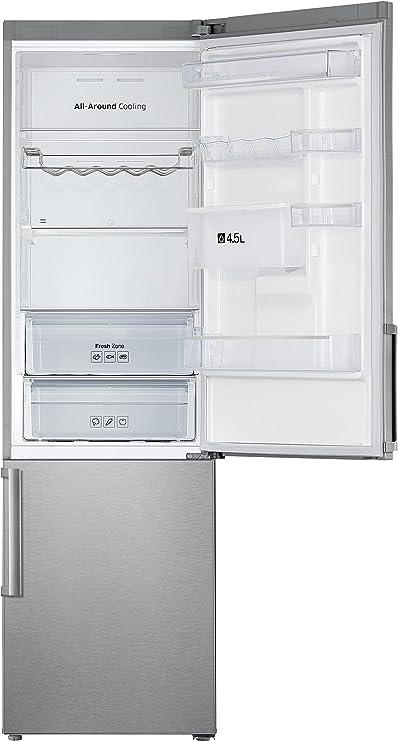 Samsung - Ref. RB37J5925SS, Nevera y congelador Independiente Acero inoxidable A++, Capacidad 360 L, Nevera Antiescarcha, SN-T, Capacidad de ...