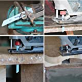 20 Pcs T-Shank Assorted Jigsaw Blades Set with