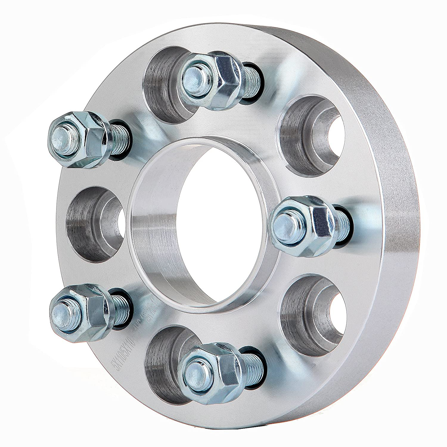 SCITOO 4X 1 5 Lug 5x110 to 5x110 Hubcentric Wheel Spacers Adapters 12x1.5 Studs Compatible with Cadillac Catera Chevrolet Malibu HHR Cobalt SS Pontiac G6