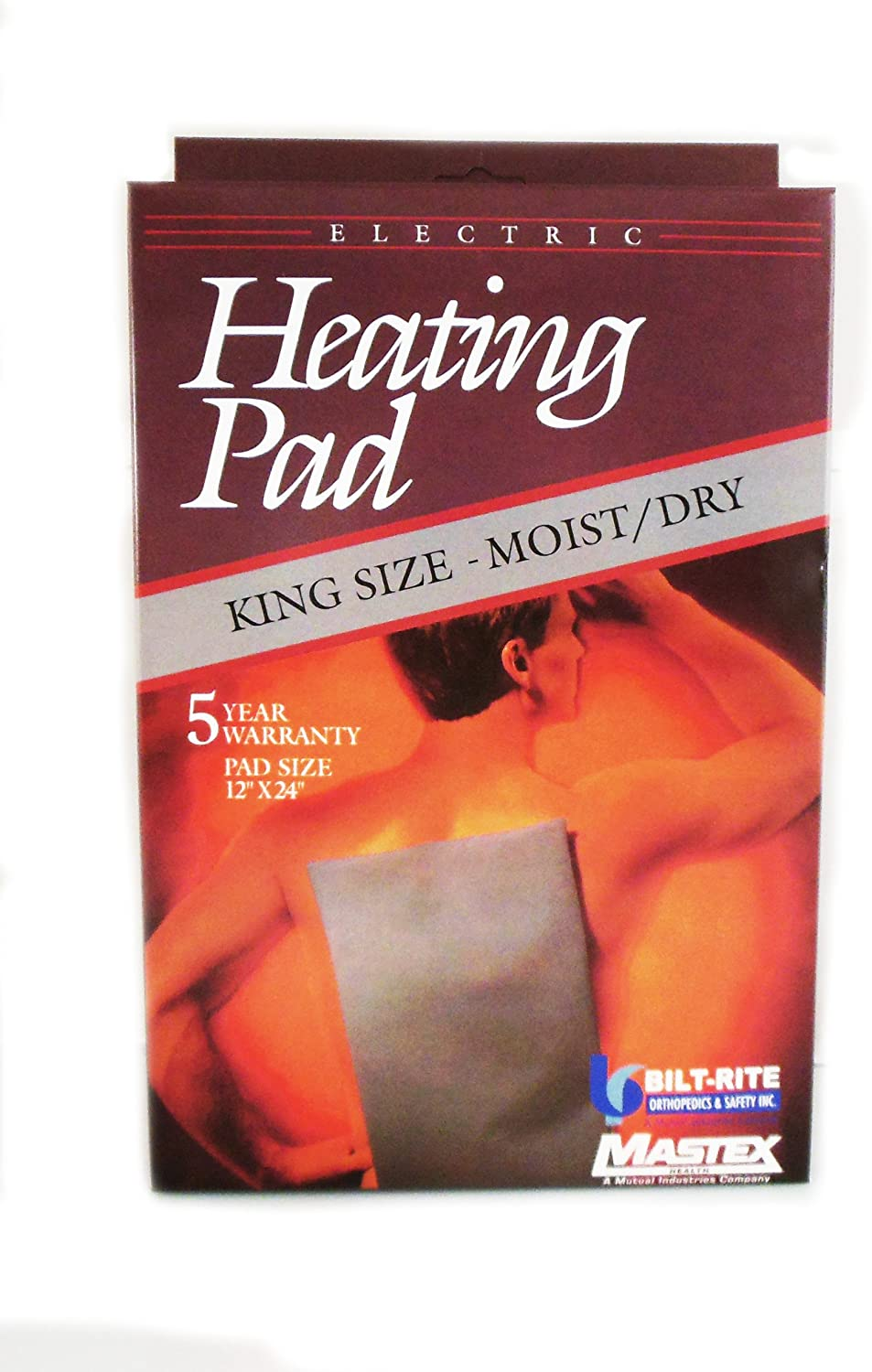 OVERSEAS USE ONLY Mastex 900 KING SIZE Moist & Dry Heating Pad
